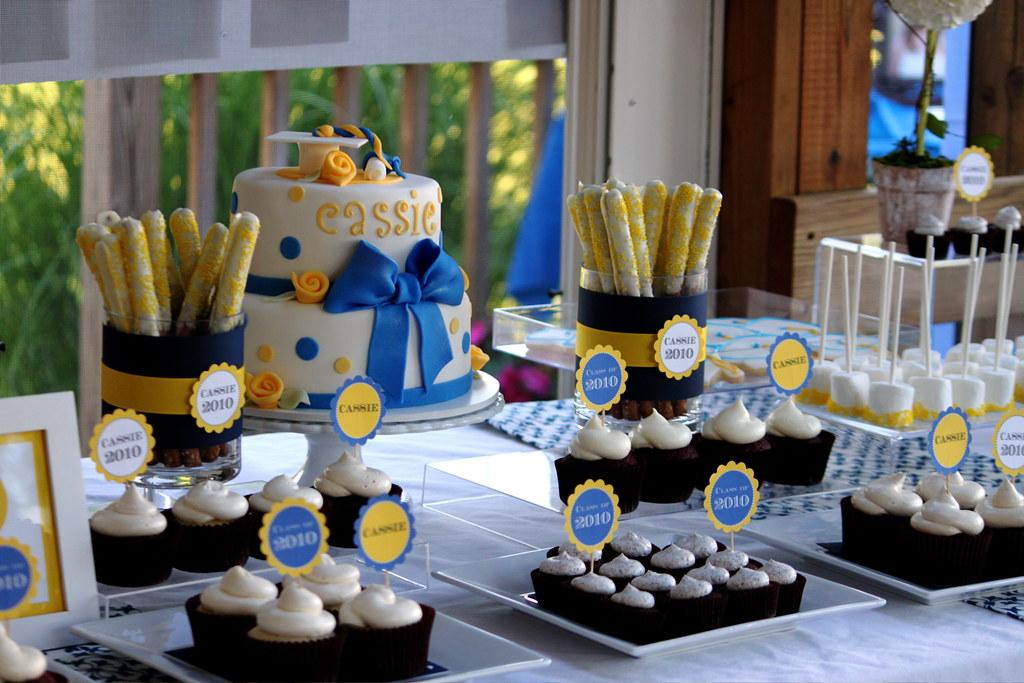 Cassie S Graduation Dessert Table Jasmine Clouser Flickr
