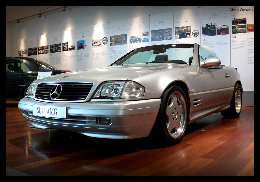 Sl 73 Amg The Extremely Rare Sl73 Amg Never Appeared On
