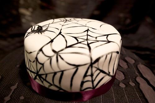Spider Web Cake Miss Alix