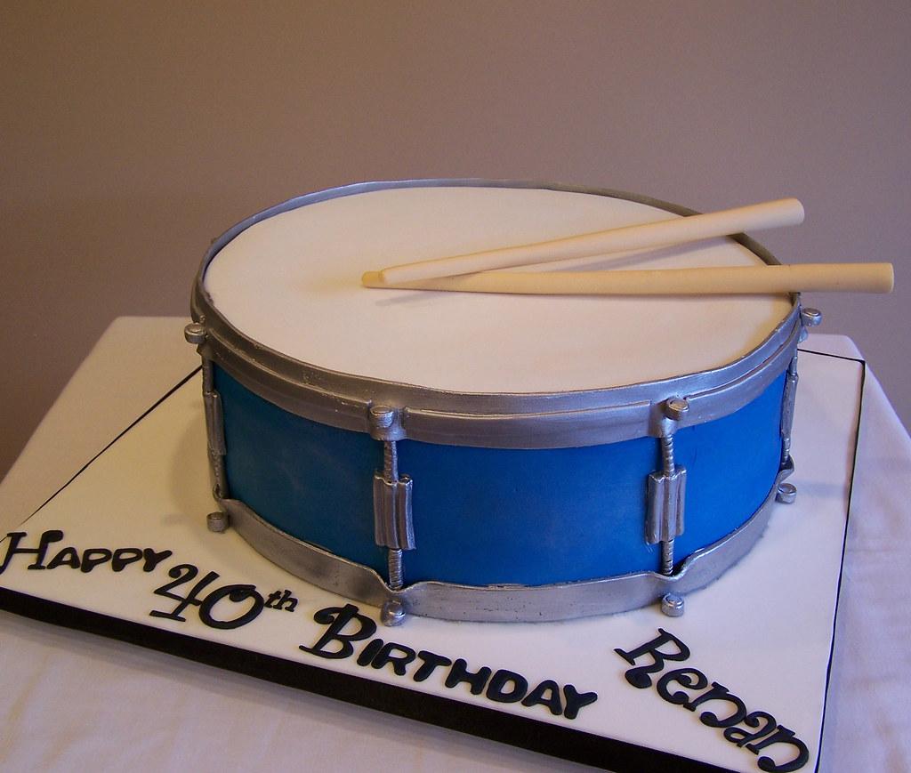 Bass Drum Cake