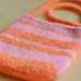 felted iphone purse