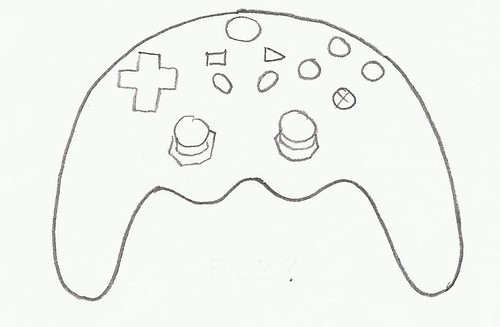 video game controller cookie cutter | by ecrandal