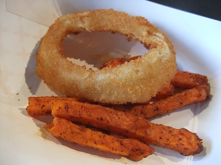 SFO Day 2: Alexia Onion Rings & Sweet Potato Fries | by swampkitty