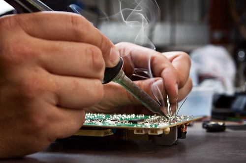 soldering smoke | by martybugs