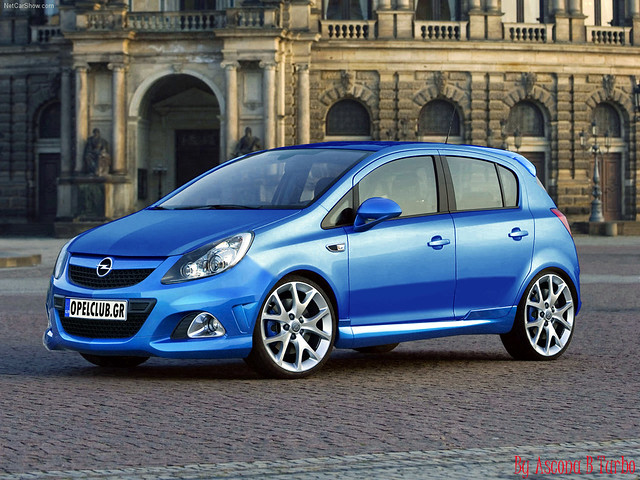 opel corsa 5 door opc 5 door 2007 virtual tuning. Black Bedroom Furniture Sets. Home Design Ideas