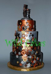 steampunk cake (with flash) | by Wild Cakes