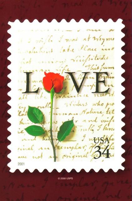 usps love 34 stamp postcard 2000 erin flickr