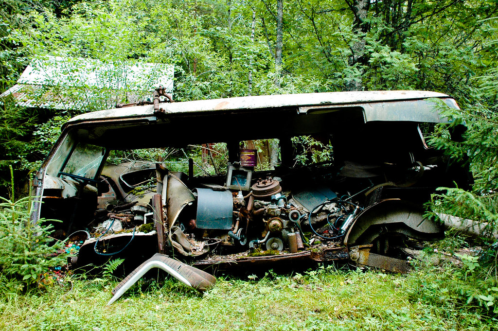 Canabilized Vw Type 2 Barndoor Bus The Volkswagen Type 2 Flickr