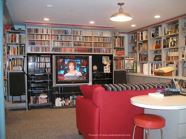 Wonderful ... Www.aadesignbuild.com, Film Criticu0027s Home Office, Finished Basement  Design And Remodeling
