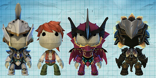 LittleBigPlanet White Knight Chronicles costumes | by PlayStation.Blog