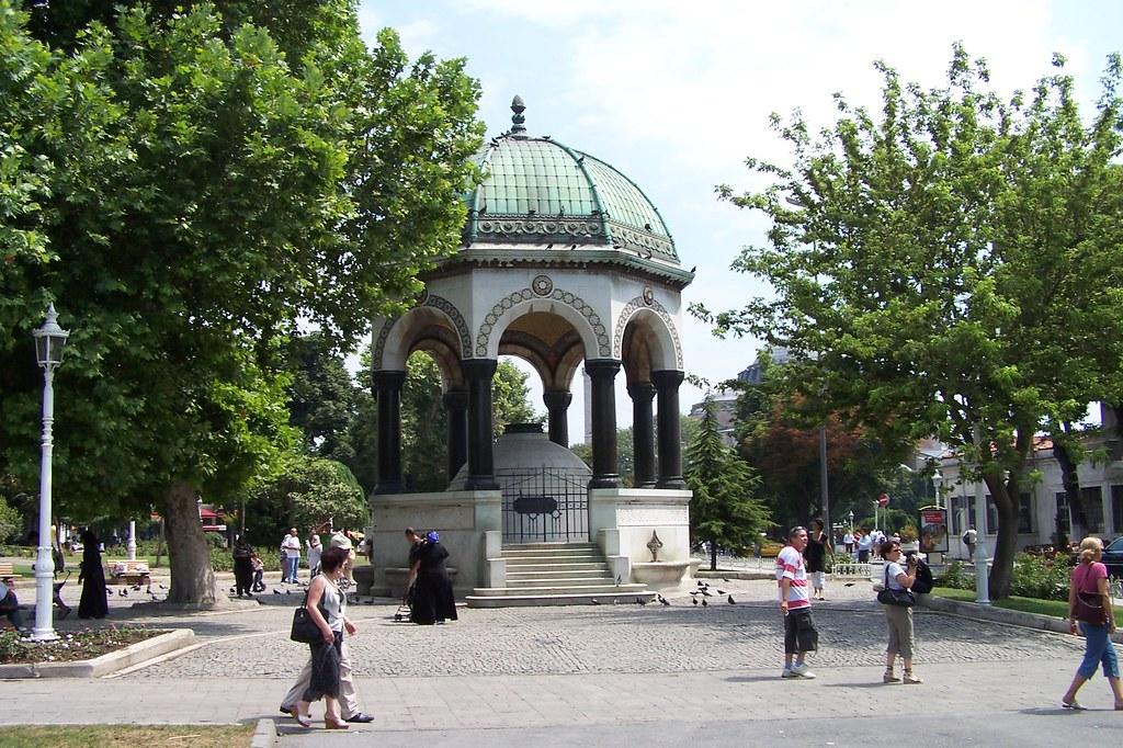 Kaiser Wilhelm Fountain - İstanbul, Turkey  The Kaiser ...