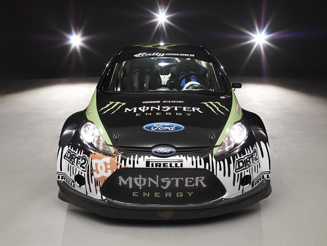Ken Block's 2010 Monster World Rally Ford Fiesta