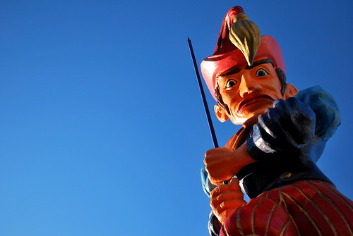 Patras Carnival Statue | by goingslowly