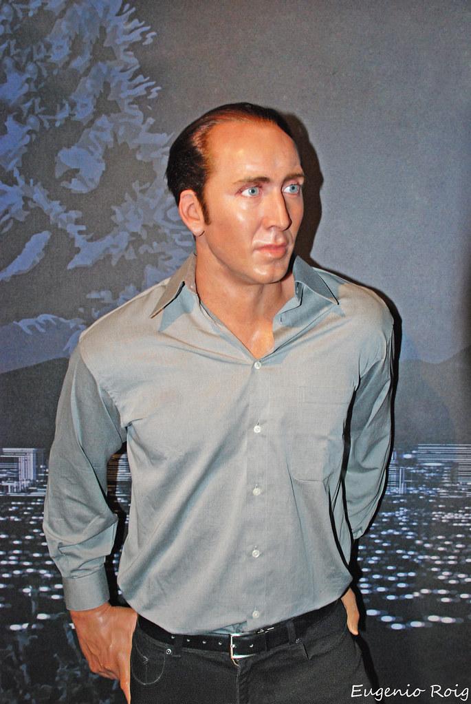 Nicolas Cage At Madame Tussaud S Wax Museum In Las Vegas N Flickr