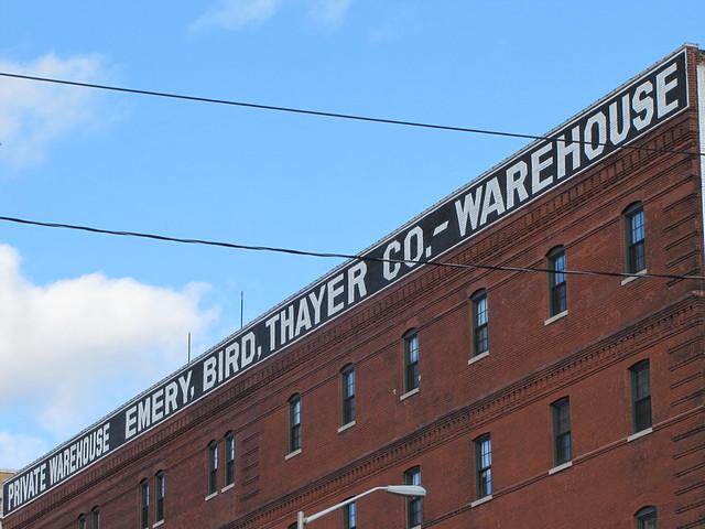 Emery Bird Thayer Warehouse Sign Flickr Photo Sharing