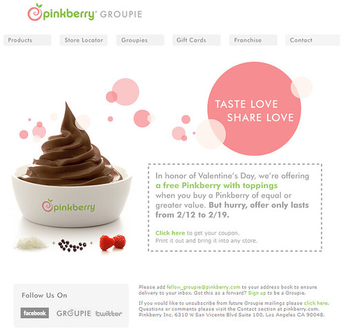 how to get a job at pinkberry