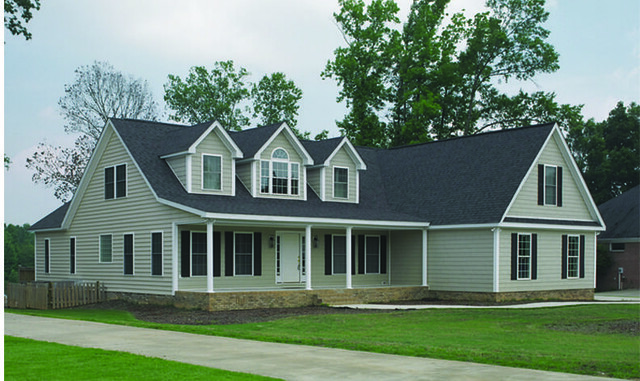 Cape Cod Style Homes Four Bedroom Home New Horizon