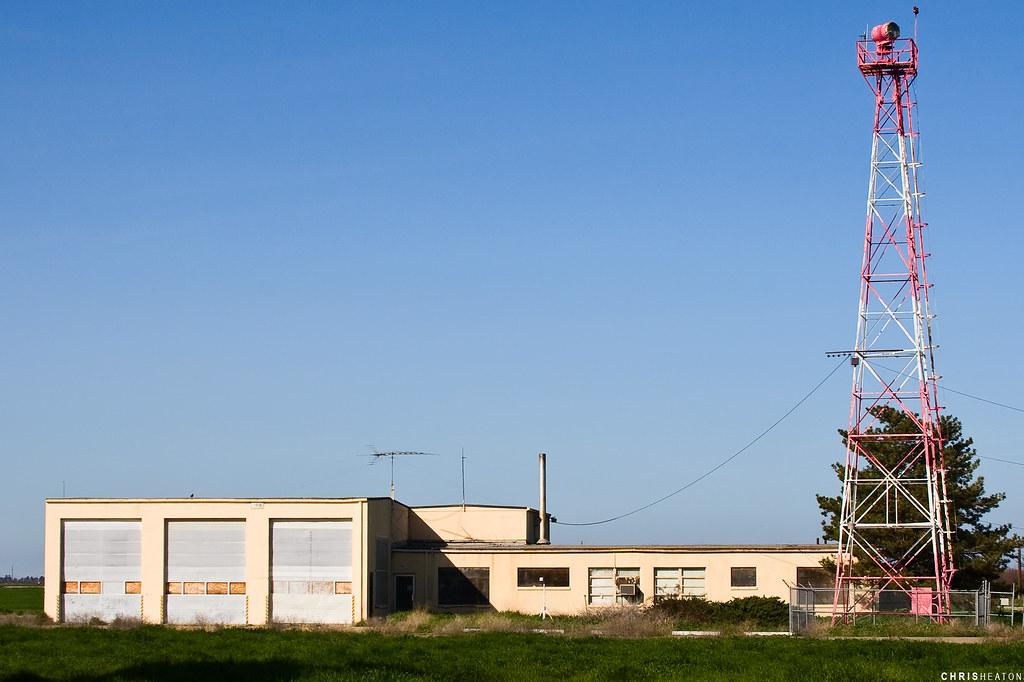 NASA Crows Landing | Fire Station and rotating beacon ...