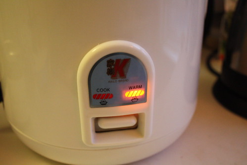 how to clean burnt rice cooker