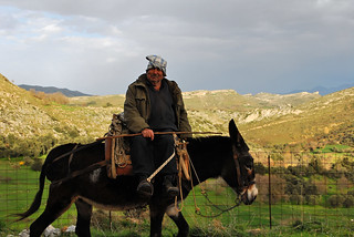 Cretan Man on Donkey | by goingslowly