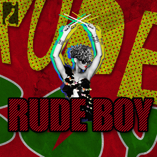 Rihanna Rude Boy That S Actually Just The Art For A