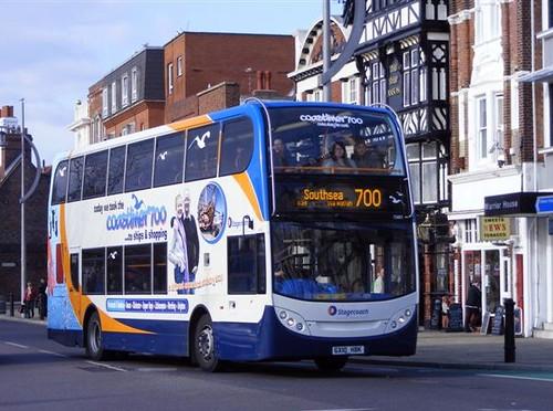 Stagecoach in Portsmouth | Stagecoach in Portsmouth Scania