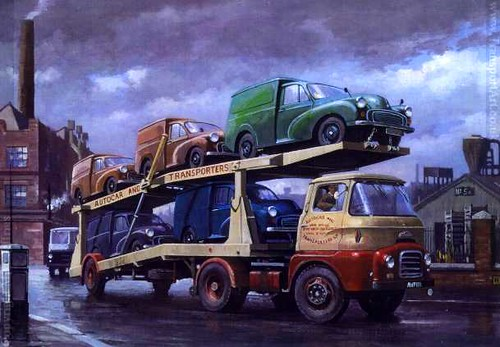 Austin Carrimore Car Transporter 1954 | The Carrimore ...