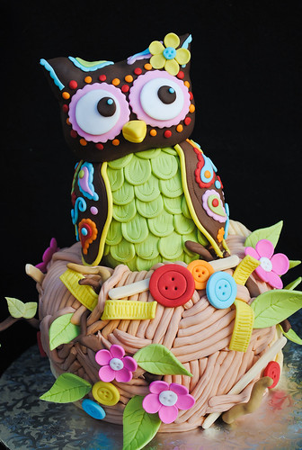 Olivia the Owl | by casa de cupcake