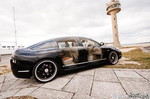 Citroen C6 Pallas Concept Car Offset Side Shot With Semi T