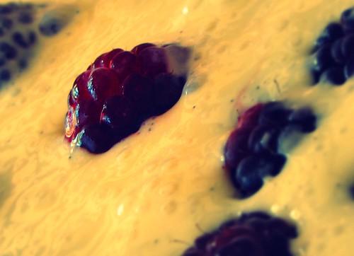 Raspberry And Yoghurt Cake With Cream Cheese Icing
