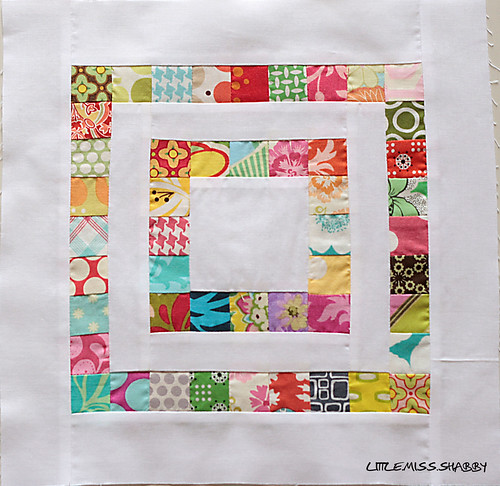 Scrapbuster Block | by Little Miss Shabby
