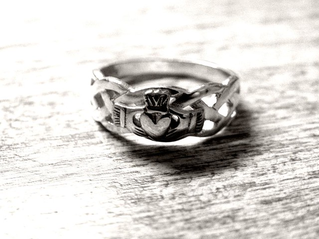 Claddagh Ring That Says Always And Forever