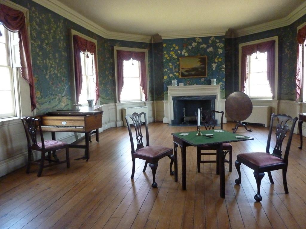 The octagonal room 1765 1776 morris jumel mansion 65 for 65 jumel terrace