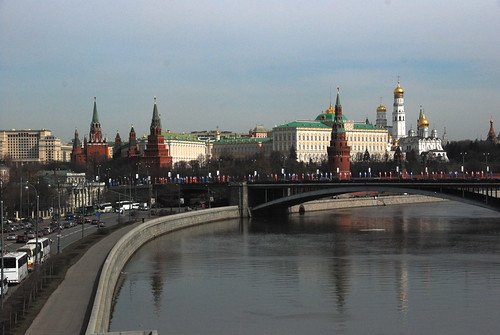 Moscow River with the Kremlin in background | by idecrease
