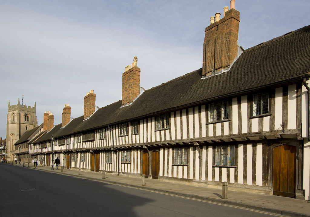 grammar school almshouses stratford 39 s famous row of. Black Bedroom Furniture Sets. Home Design Ideas