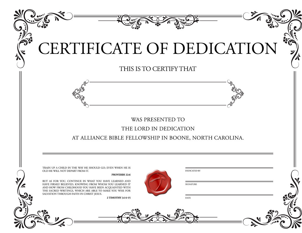 free baptism certificate templates