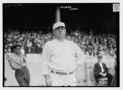 [John McGraw, New York NL, at Polo Grounds, NY (baseball)]  (LOC) | by The Library of Congress