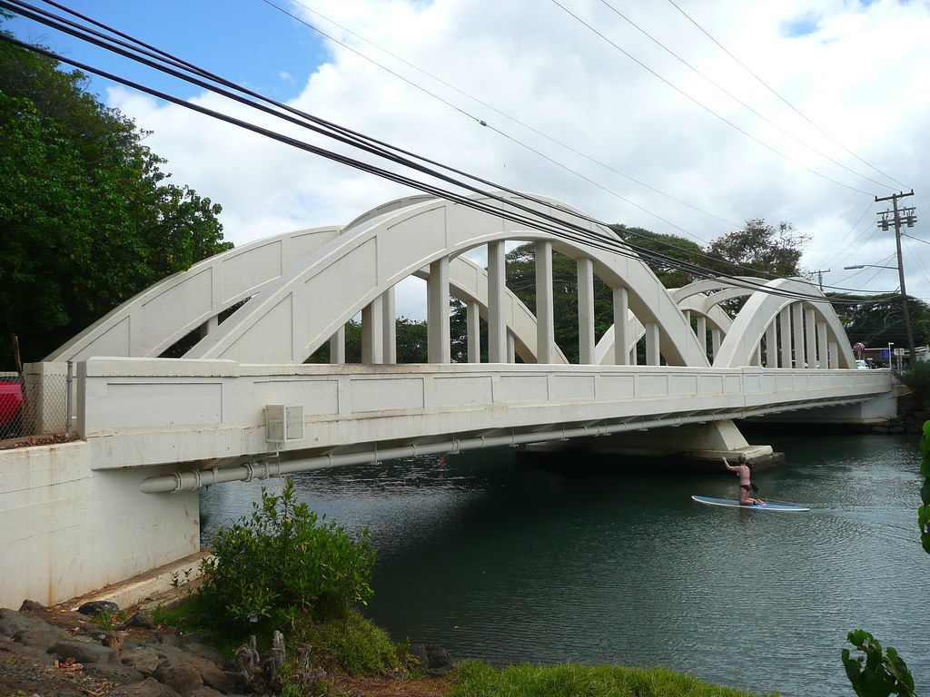 Haleiwa, HI Rainbow Bridge   The Rainbow Bridge ...