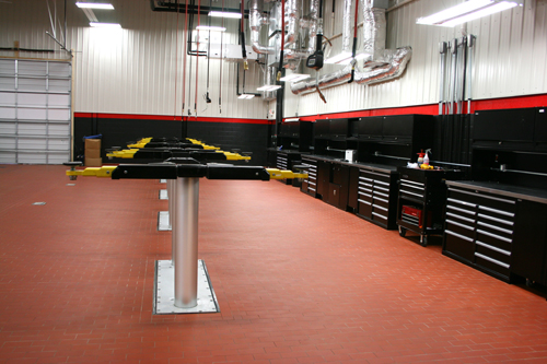 Globe In Ground Car Lift : Challenger lifts envirolift with aquavantage