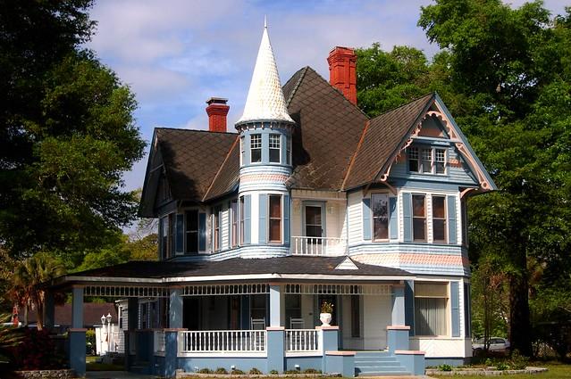 George F. Barber Designed House in DeFuniak Springs, Florida