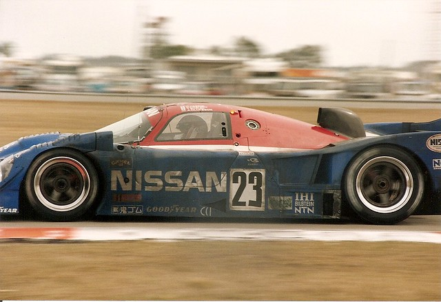 Nissan R91cp Daytona 24 Hour 1992 Close Up Of The 92