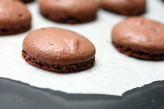 french chocolate macaron | by David Lebovitz