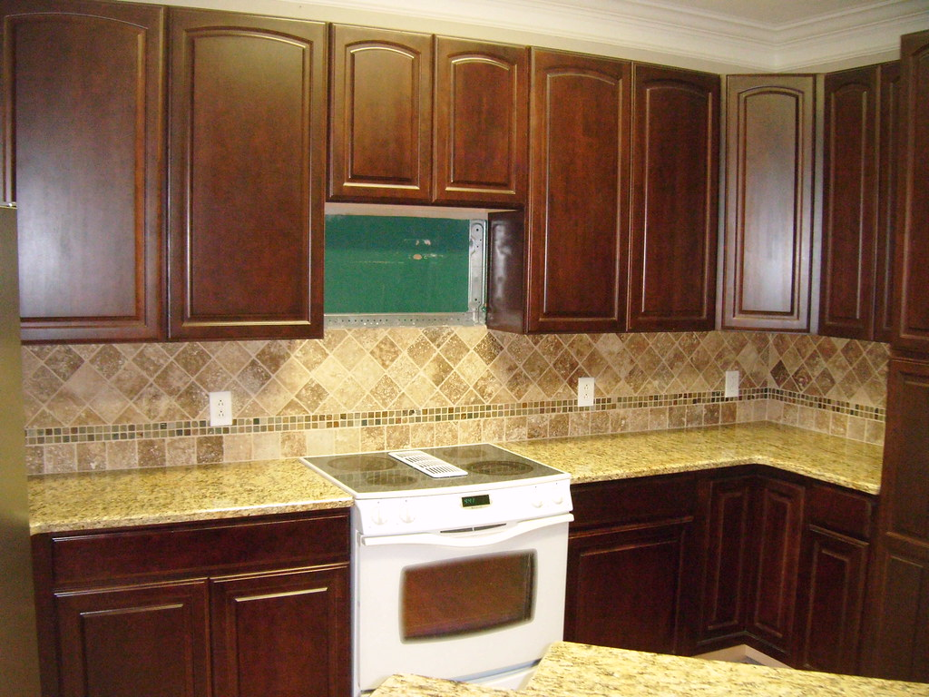 Kitchen Counter Tile Backsplash Ideas