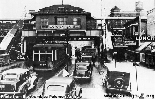 """63rd and Cottage Grove CTA station 1930   CTA """"L"""" Station ..."""