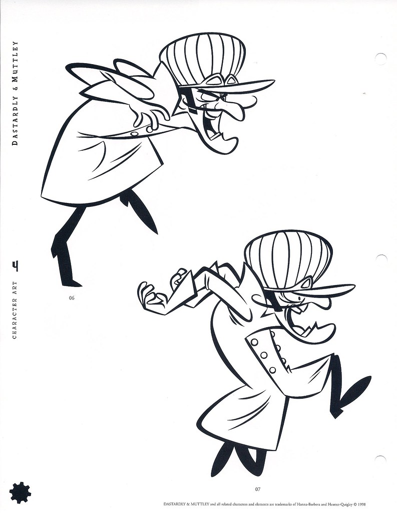 wacky racers coloring pages-#29
