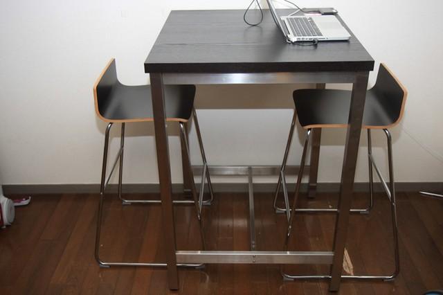 家庭のアイデア テーブルセット ikea : しました。バーテーブルセット ...