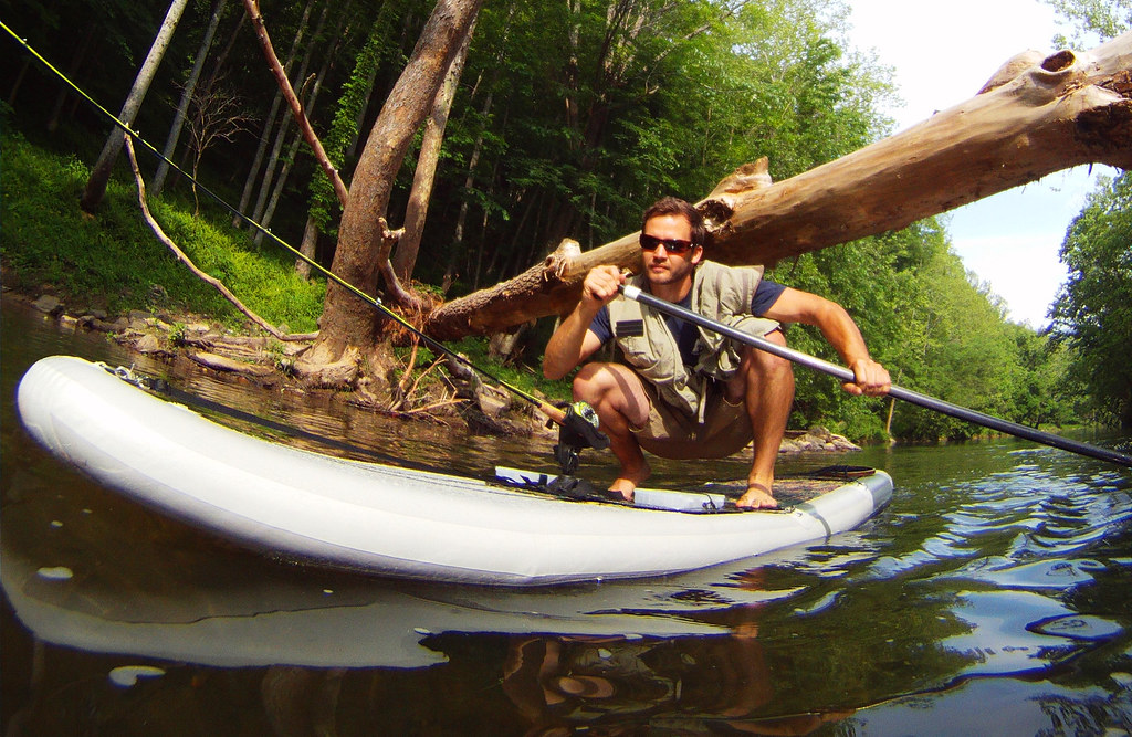 Fly fishing from the best fishing sup and kayak stride a for Best fly fishing kayak