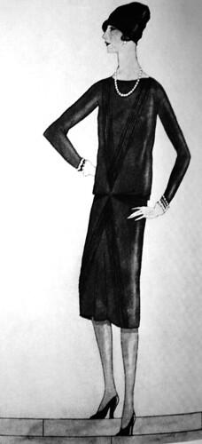 chanel little black dress 1926 maaike gottschal flickr