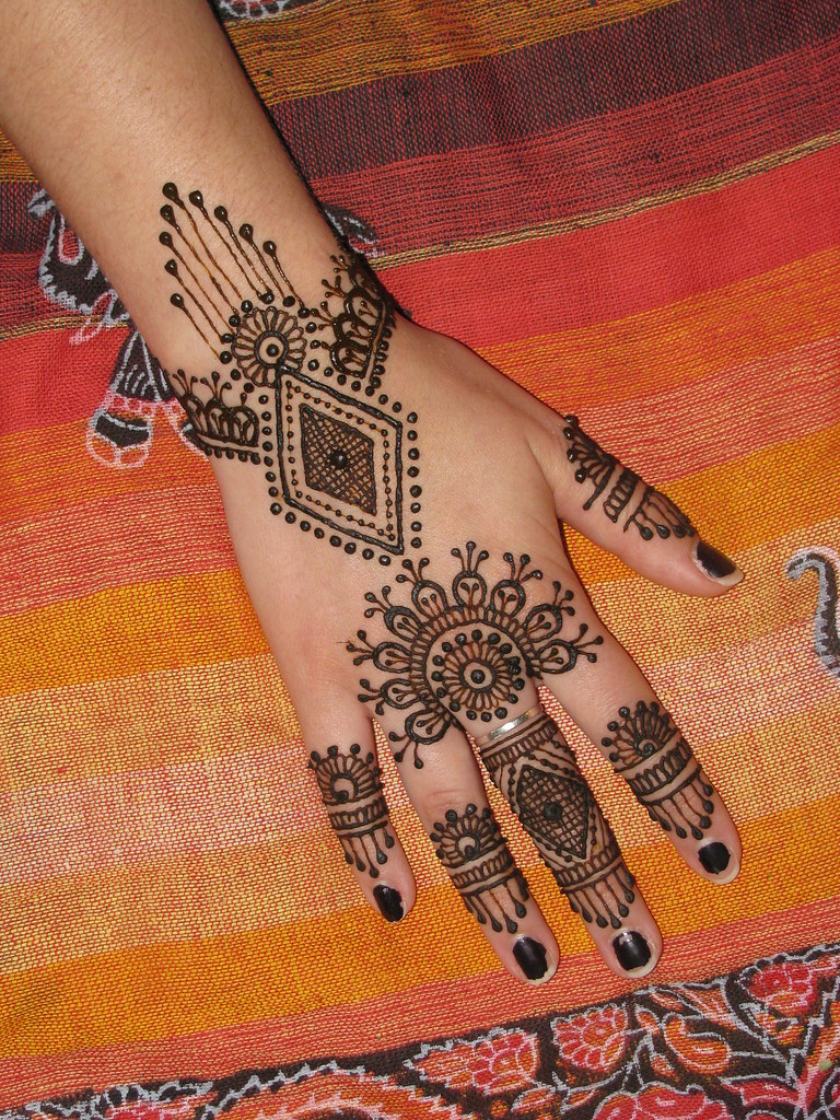 Henna On Hand From Asha Savla Book Mehandi Party Volcano H Flickr