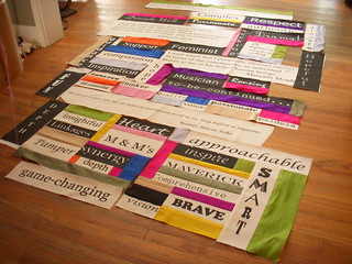 Quilt of Words (work in progress) | by Snappy Shop